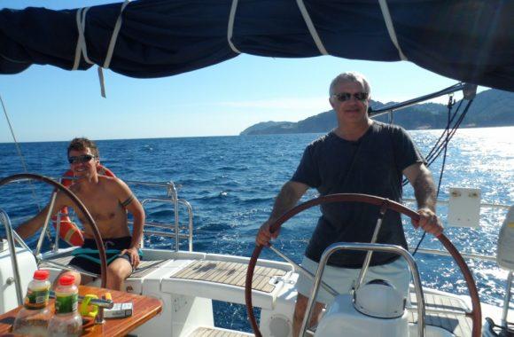 Путешествие на парусной яхте Турция 2017